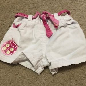 Baby shorts. 0-3 months